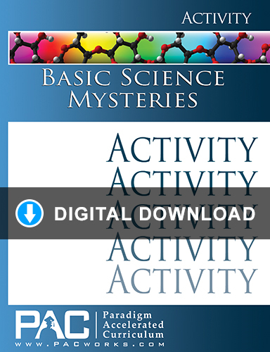 Basic Science Mysteries Activities Digital Download