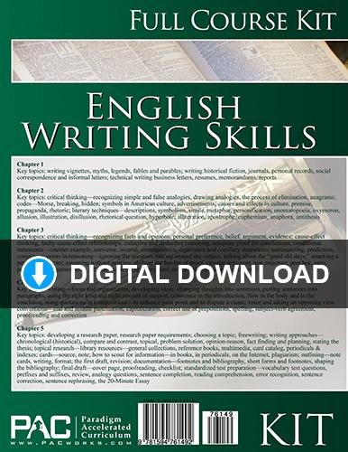 English III: Writing Skills