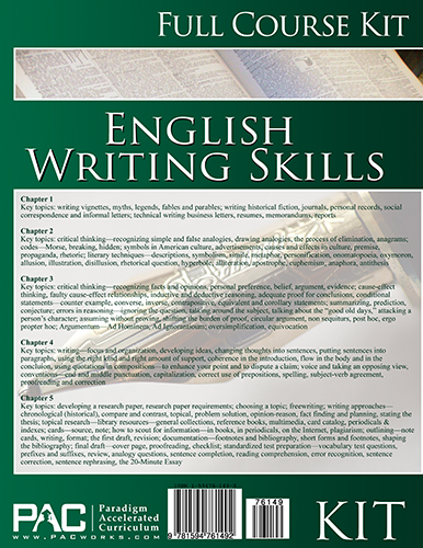 English III: Writing Skills