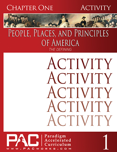 People, Places, and Principles of America