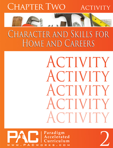 Character and Skills for Home and Careers