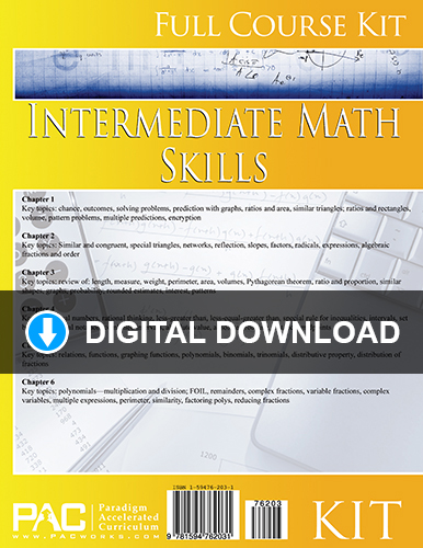 Intermediate Math Skills