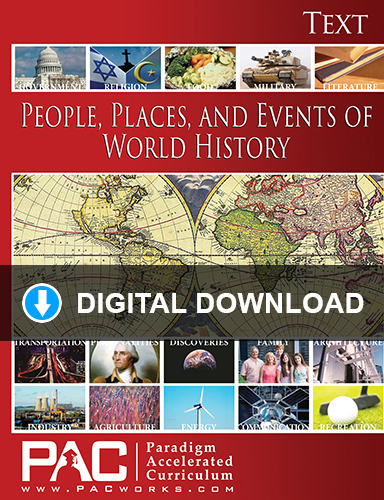 People, Places, and Events of World History