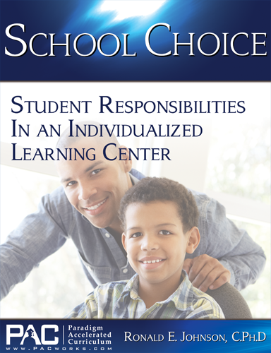 Student Responsibiliites in an Individualized Learning Center