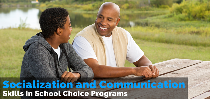 Socialization and Communication Skills in a School Choice Program