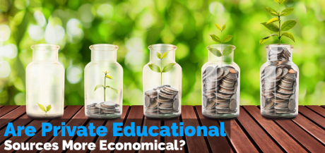 Are Private Education Source More Economical?