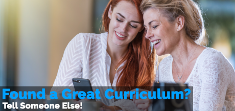 Found a Great Curriculum? Tell Someone Else!
